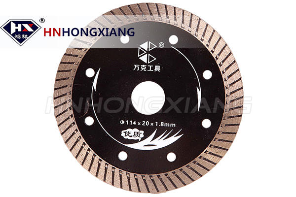 Segment turbo diamond blade