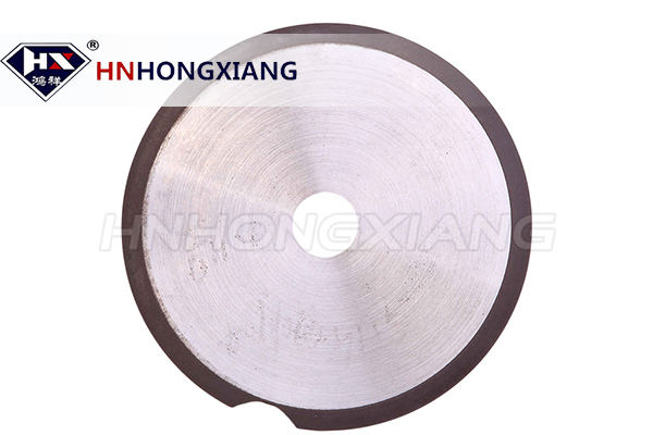 Glass diamond saw blade