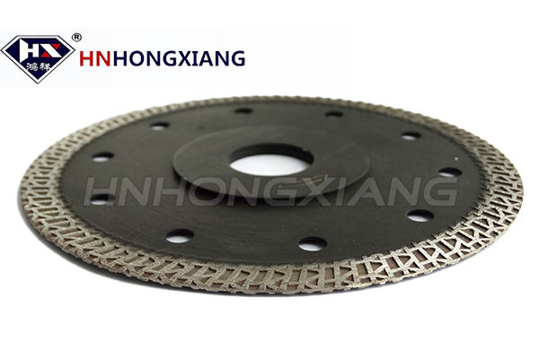 Porcelain diamond blade