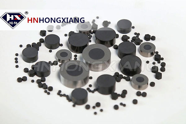 PCD blanks for wire drawing die