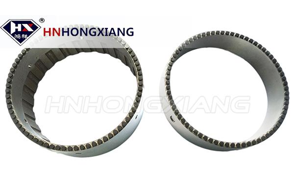 PDC thrust bearing